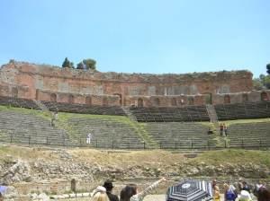 Greek Theater Taormina, Sicily