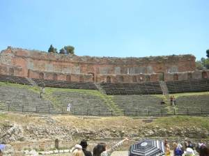 Greek Theater Taormina, Sicily