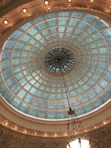 Tiffany Dome, Chicago Cultural Center