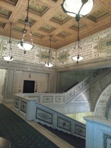 Stairs, Chicago Cultural Center
