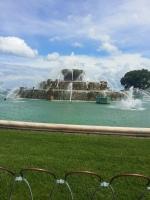 Buckingham Fountain by day