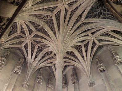Ceiling of Chapel de Cluny