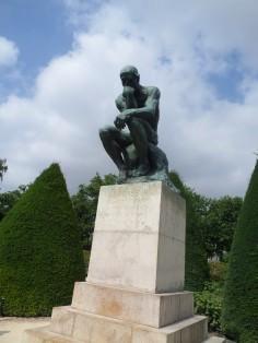 Rodin Statue, The Thinker