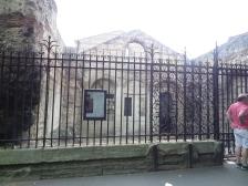 Roman baths, exterior