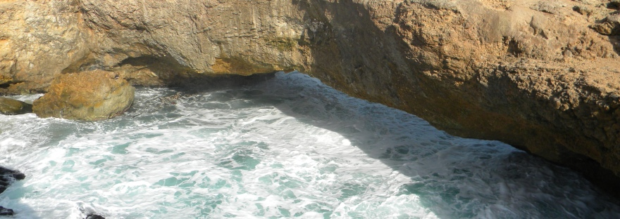 Aruba natural bridge