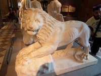 Funerary lion statue, Greece, 230 BC