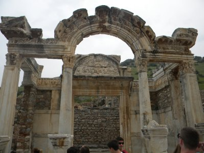 Ephesus Turkey Temple of Hadrian