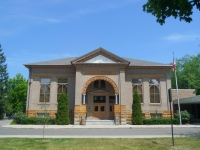 Historical Center of Traverse City housed in former library endowed by Andrew Carnegie.