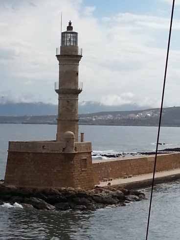 Chania lighthouse Crete
