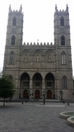 Notre-Dame Basilica, the western tower is named Perseverance and the eastern tower Temperance.