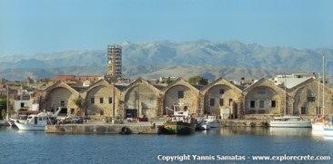 Venetian Dockyards, Photo credit: Yannis Samatas, www.explorecrete.com