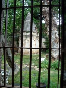 Window of former Franciscan Church