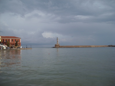 Chania Crete lighthouse