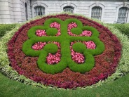 Montreal logo--each petal makes a V & M for Ville Montreal