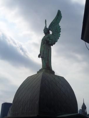 Angel atop Notre-Dame-de-Bonsecours