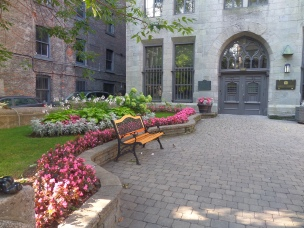 Notre Dame Courtyard