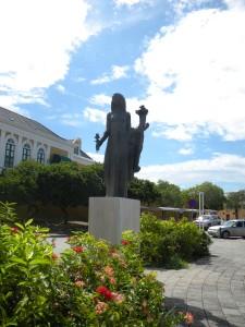 The Antilles Lady Statue