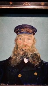 Postman Joseph Roulin by Van Gogh 1888