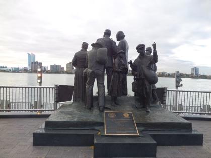 Gateway to Freedom statue