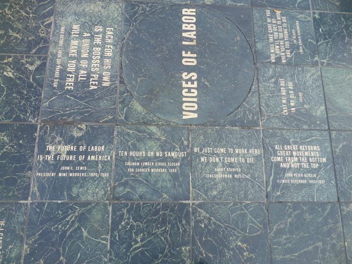 Voices of Labor, Hart Plaza, Detroit, MI