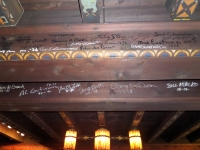 Scarab Club beam with Diego Rivera signature