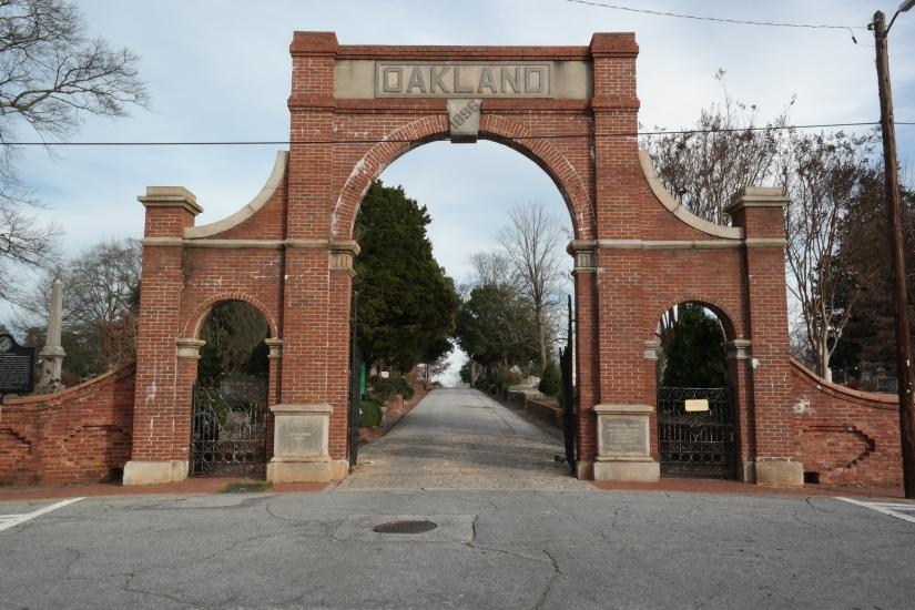 Oakland Cemetery, Atlanta Georgia, Historic Site
