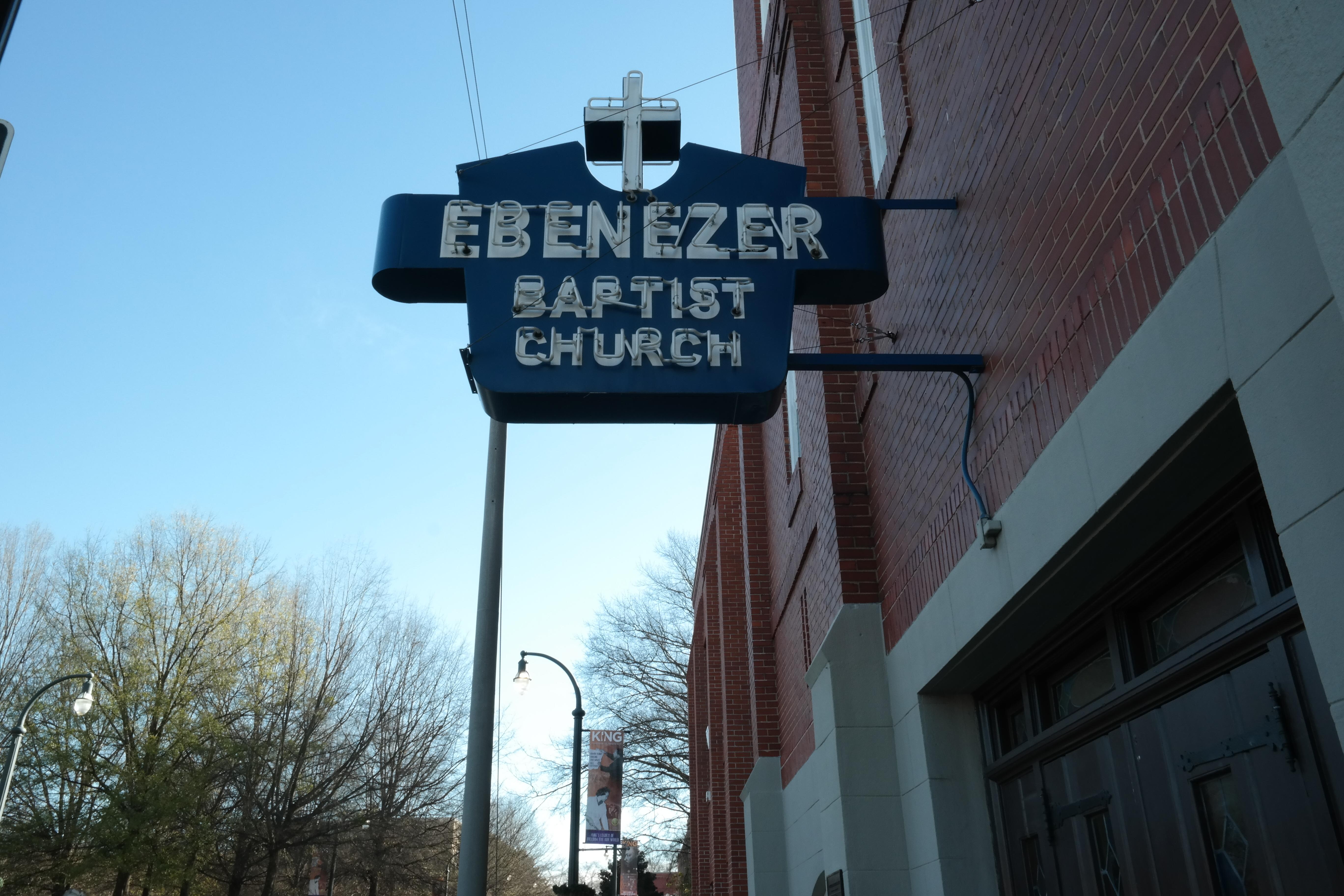 Ebenezer Baptist Church Atlanta, MLK National Park, Historic Site
