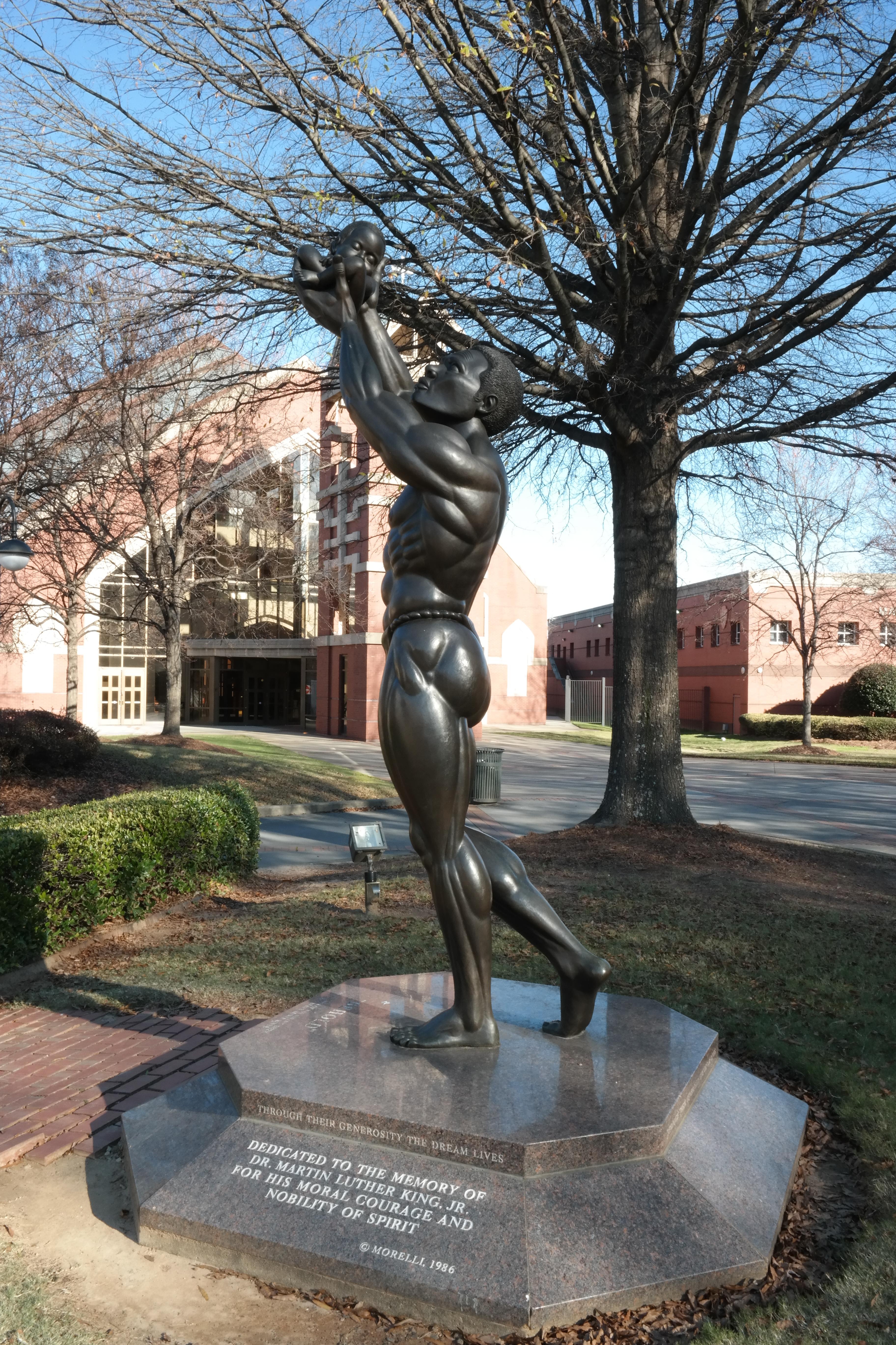 Behold Statue, MLK Site, Atlanta Georgia, Civil Rights History