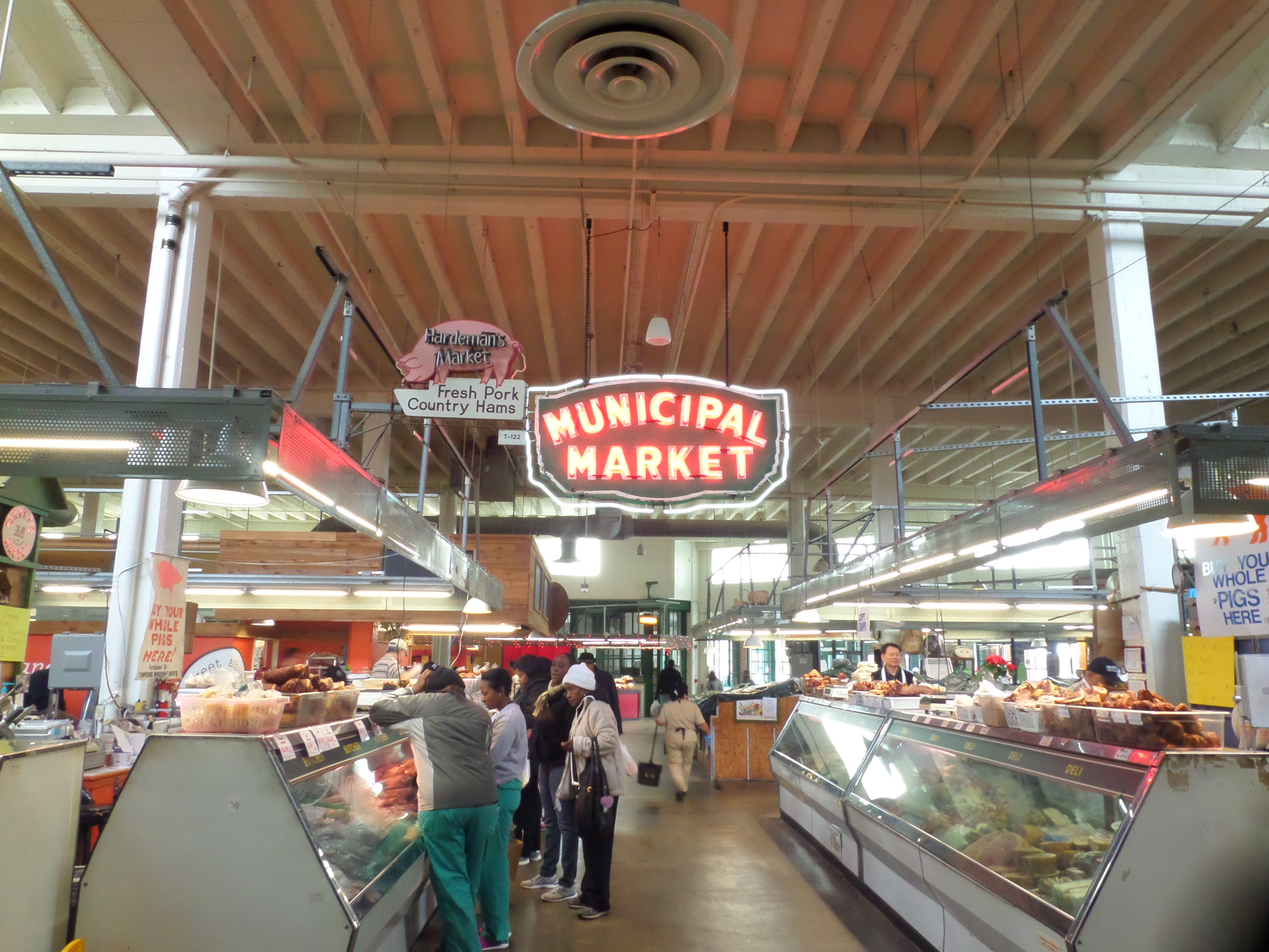 Sweet Auburn Market, MLK National Historic Site, Atlanta Georgia, Civil Rights History