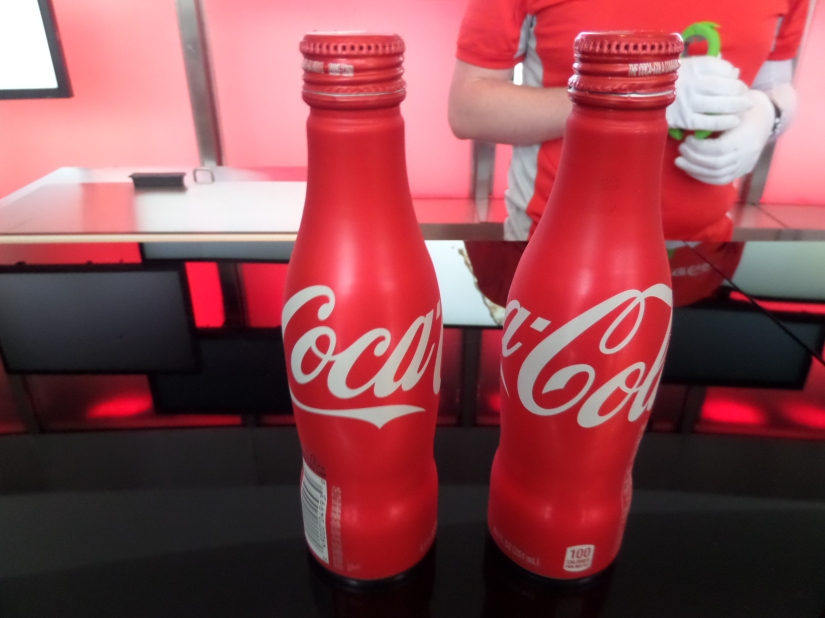 Coca Cola bottles, World of Coca-Cola, Atlanta Georgia