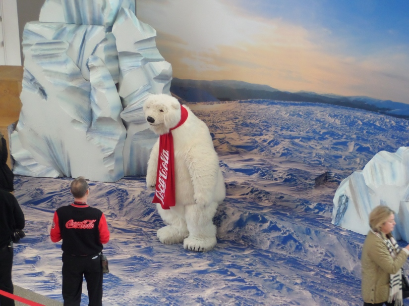 Coca-Cola Polar Bear, World of Coca-Cola, Atlanta Georgia