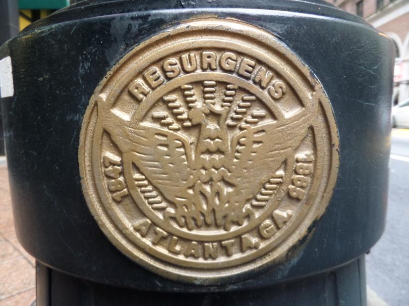 Atlanta Seal, Georgia, Atlanta history