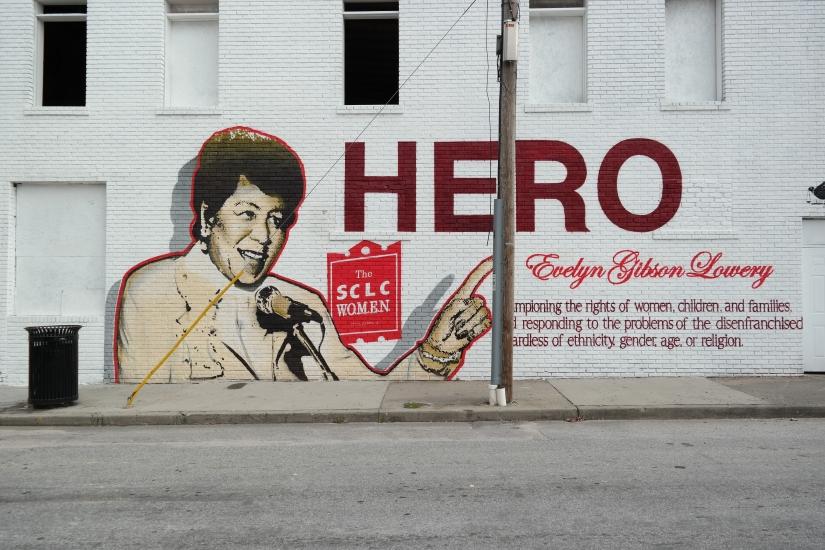 Sweet Auburn Civil Rights Mural, Atlanta Georgia, Civil Rights History