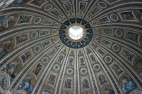 Michelangelo's dome at St. Peter's Basilica