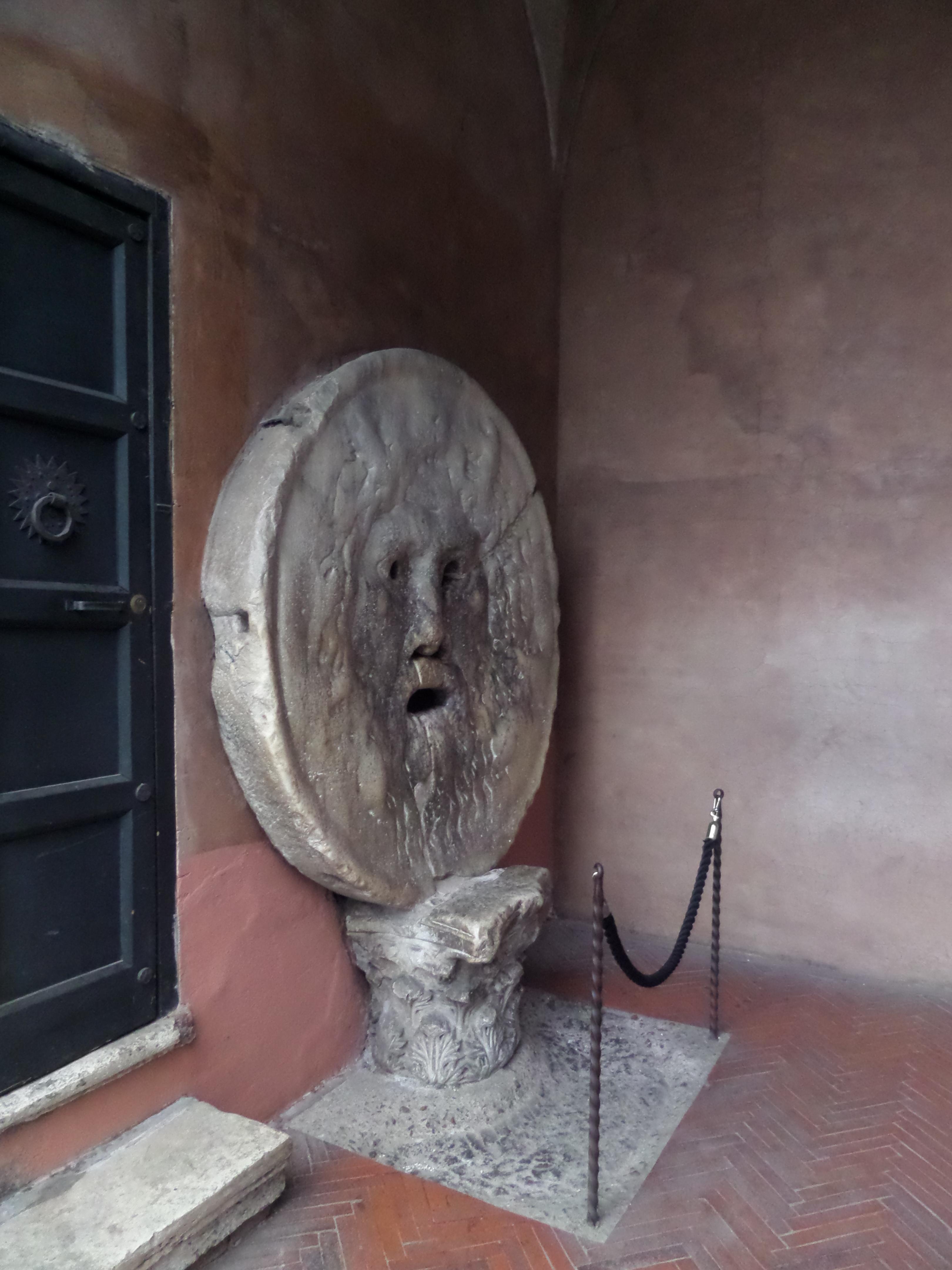 Bocca della Verita, Mouth of Truth, Rome, Italy