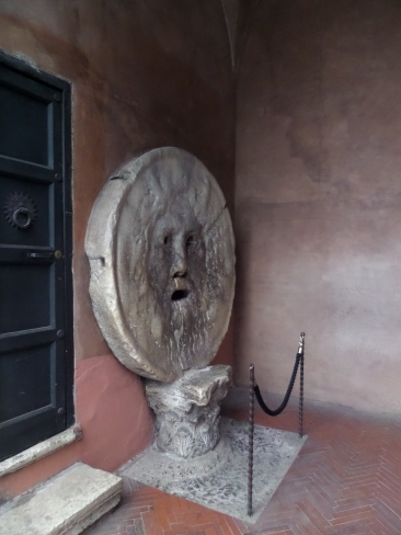 Bocca della Verita, Mouth of Truth, Rome, Italy