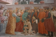 Brancacci Chapel fresco