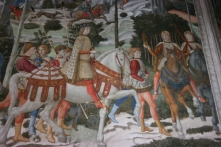 Fresco in Chapel of the Magi--Medici Palace