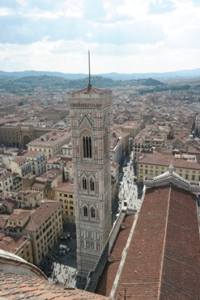 View from top of Duomo
