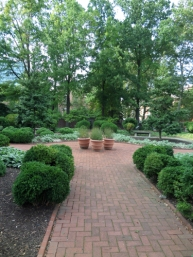 18th century garden, Philadelphia