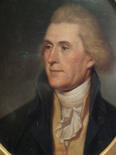 Thomas Jefferson by Charles Peale
