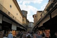 Vasari Corridor atop Ponte Vecchio