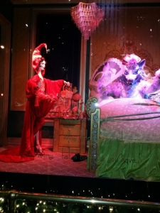 NYC Christmas window display