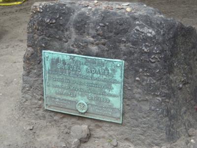 Samuel Adams--Granary