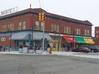 Area around Market