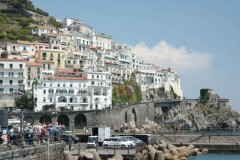 Amalfi to Atrani roadwaay