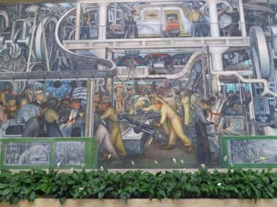 Diego Rivera murals Detroit