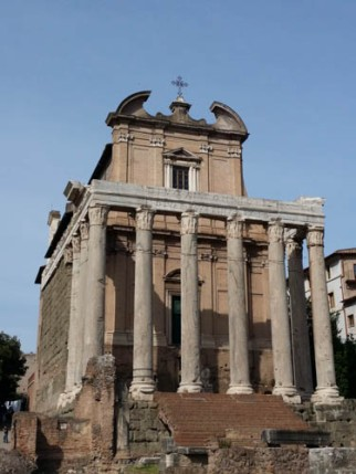 Temple of Antoninus & Faustina