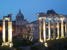 Forum at Night (3)