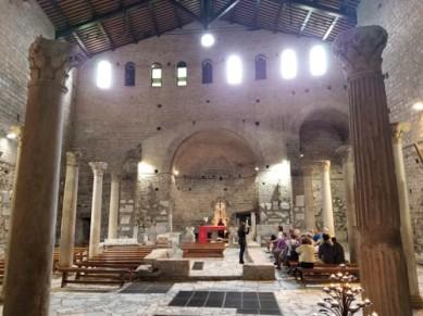 Underground Basilica at Domitilla's Catacombs